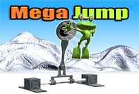 Mega Jump game,FLASH TEMPLATES.