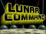 LUNAR COMMAND GAME,COMPUTER GAMES