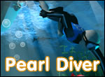 Pearl Diver Game, Websites Flash Banners.