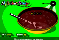 ALPHABET SOPE GAME.ONLINE GAMES